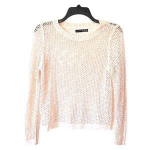 🍀 3/20Atmosphere large knit pink and copper